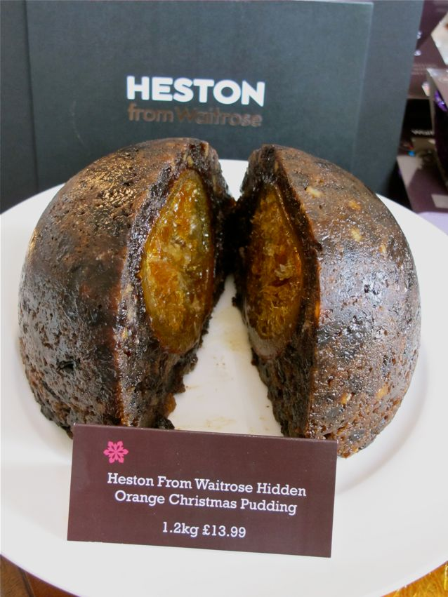 Heston Blumenthal Christmas Pudding Cake