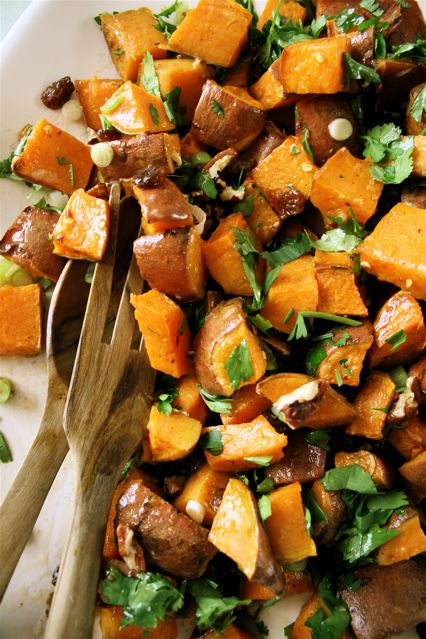 Ottolenghi Recipe Sweet Potato Salad With Pecan And Maple