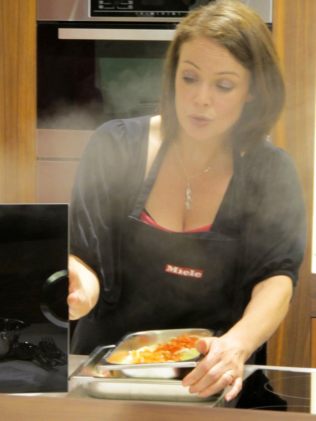 using steam oven Silvana Franco demo