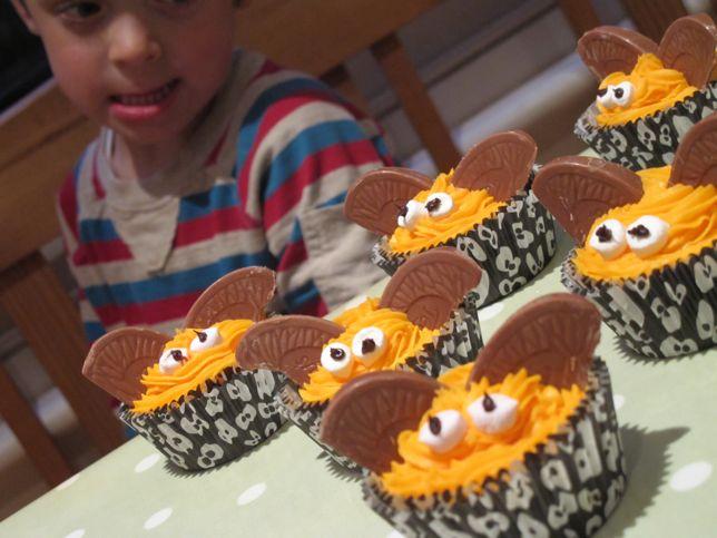 Recipe: chocolate orange Hallowe'en bat cupcakes (gluten free option ...