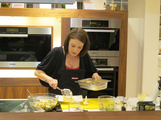 Silvana Franco cookery demonstration