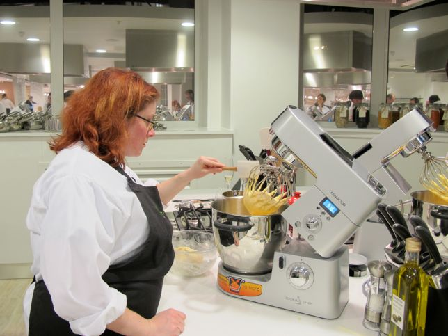 Macaron class at Waitrose Cookery School