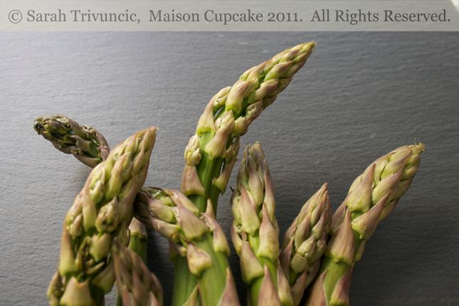 Eggs and Asparagus Soldiers by Sarah Trivuncic Maison Cupcake