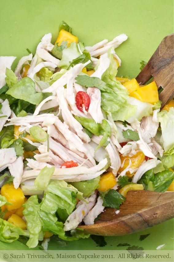 Nigella Lawson Golden Jubilee Chicken Salad by Sarah Trivuncic Maison Cupcake