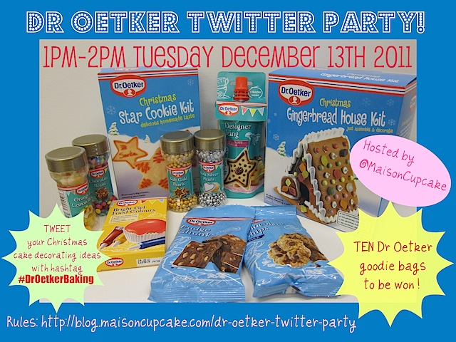 Twitter Party Dr Oetker