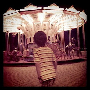 carousel-teddy