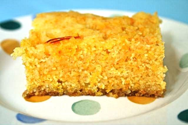 Sticky Orange Cake Recipe