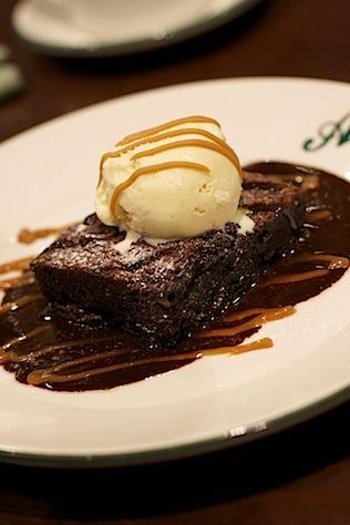 Westfield Allstar Lanes Brownie Dessert