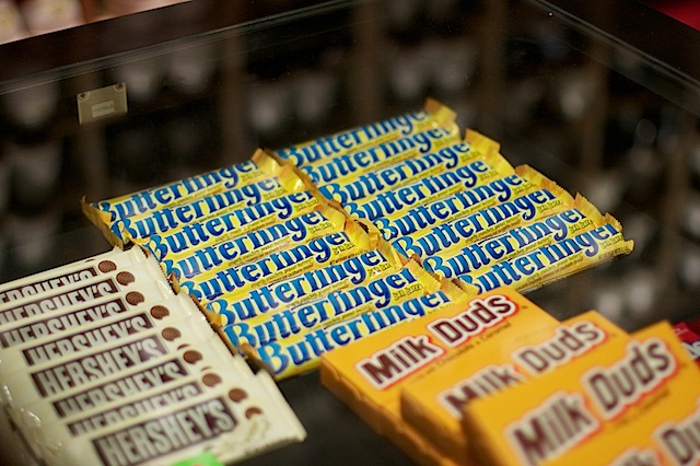 Westfield Allstar Lanes Candy Bars