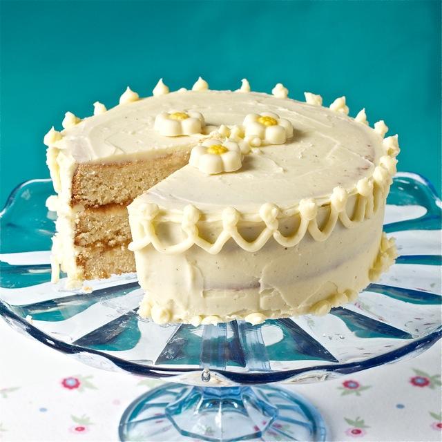 Peggy Porschen Vanilla Cake Recipe