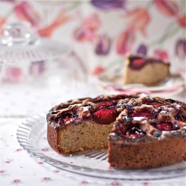 Gluten free plum cake recipe