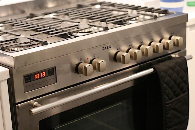 AEG range cooker