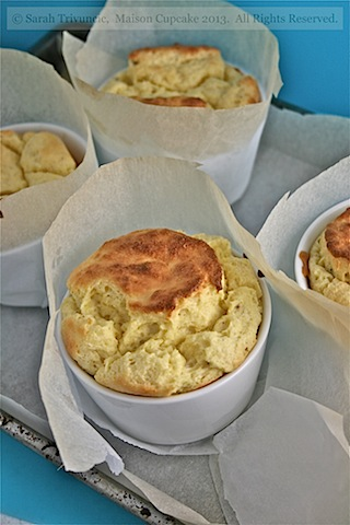 Goats cheese souffle - 15