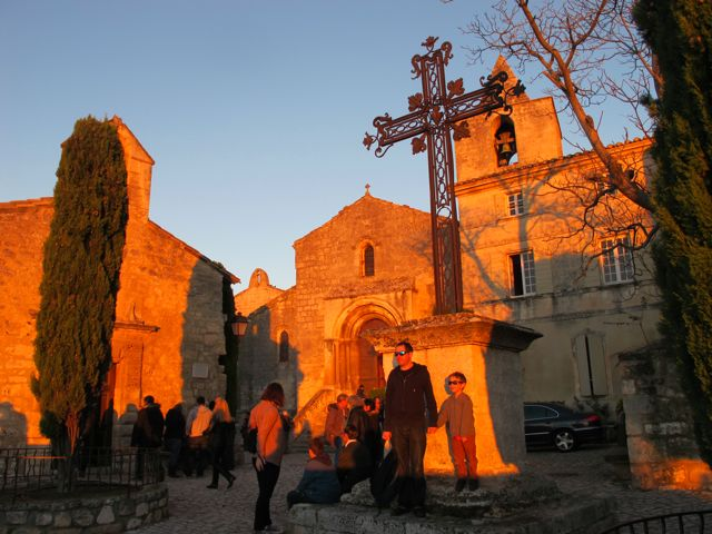 Sunset in Les Baux