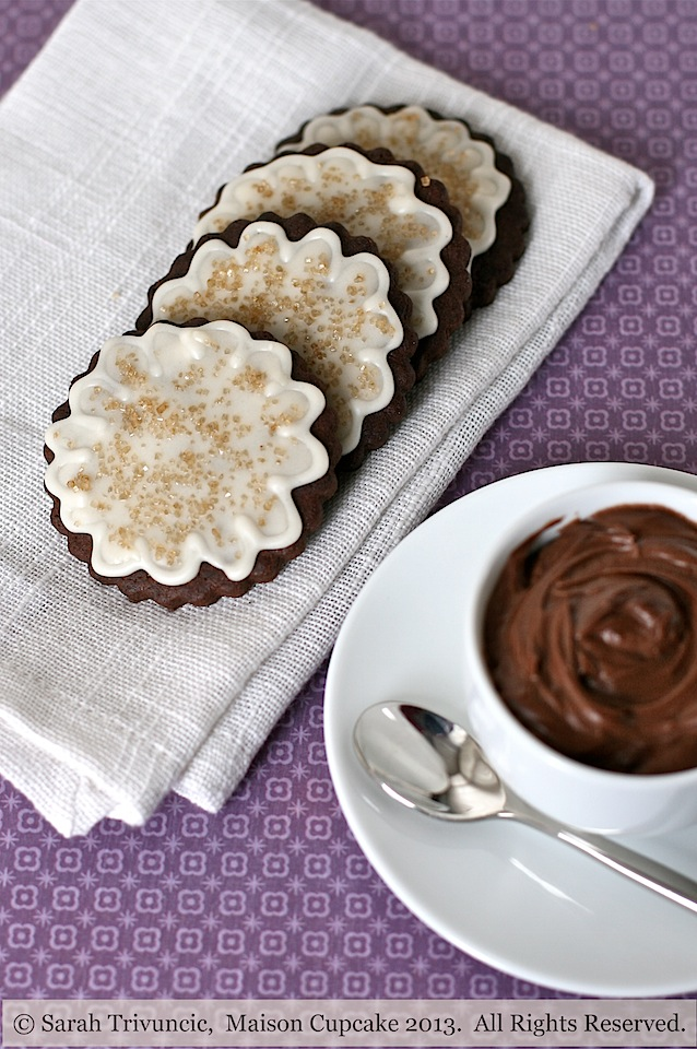 Chocolate coffee sugar cookies