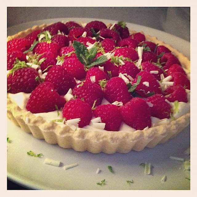 Really fast raspberry tart - 6