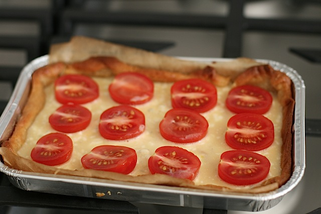 Boursin mini tomato quiche - 6