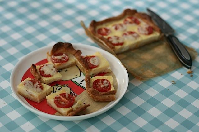 Boursin mini tomato quiche - 8