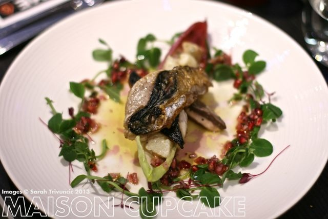 Brigade Restaurant Review #London chef mackerel salad