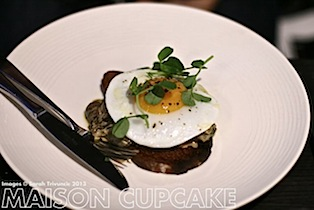 Brigade Restaurant Review #London egg starter dish