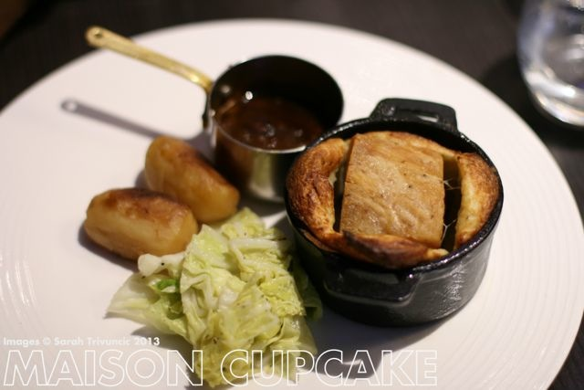 Brigade Restaurant Review #London pork belly toad in the hole