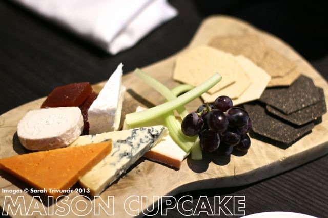 Brigade Restaurant Review #London cheese board