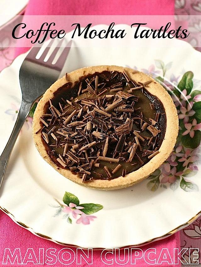 mini coffee tarts