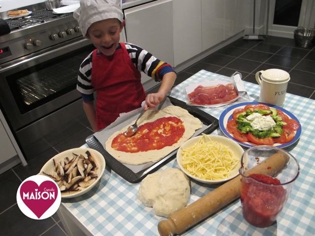 Pizza Express style family night in using Tesco finest range #shop #cbias #ad