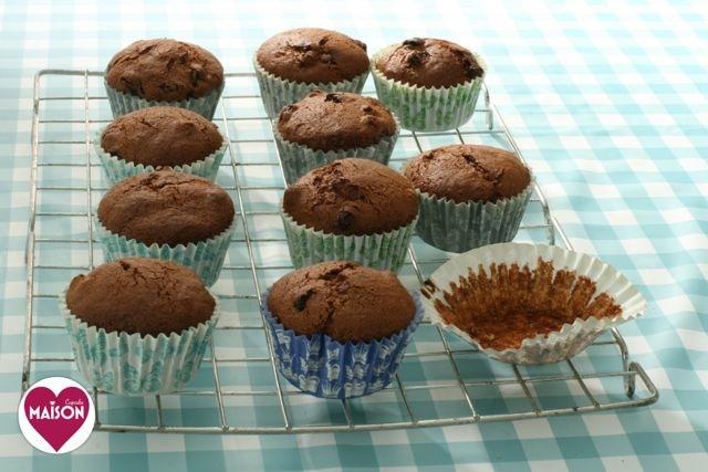 Golden brown sugar raisin spelt muffin recipe - spelt flour is often tolerated by coeliacs even though it's not technically #glutenfree