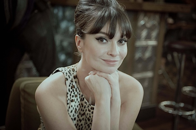 Gizzi Erskine launching people