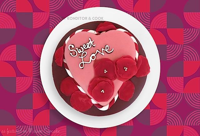 Valentines range 2014 by Konditor & Cook