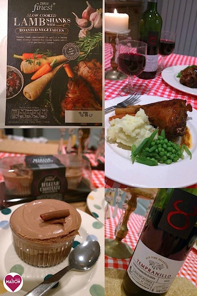 Feb 14 Tesco £20 meal deal