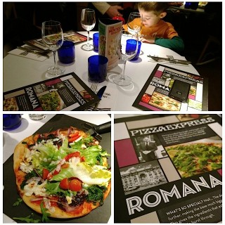 Dinner with Doughballs: Pizza Express