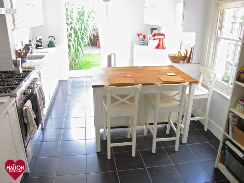 ikea stenstorp kitchen island and ingolf bar stools in wickes kitchen