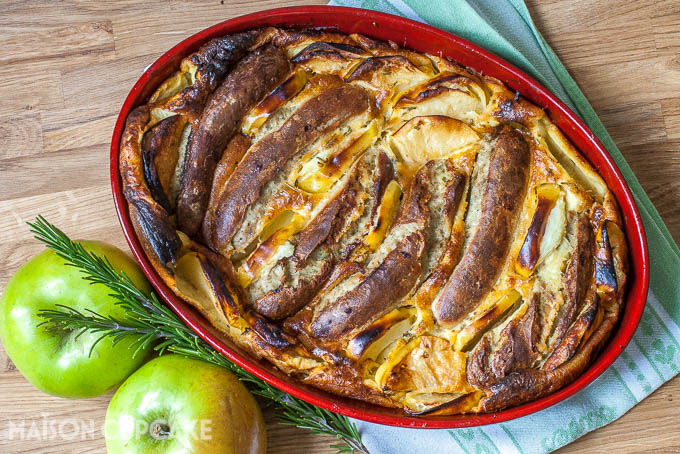 Bratwurst Toad in the Hole Bramley Apple Week - 6