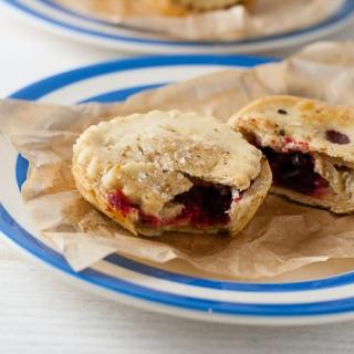 Bramley Apple Hand Pies with Beetroot (Vegan, Low Sugar)