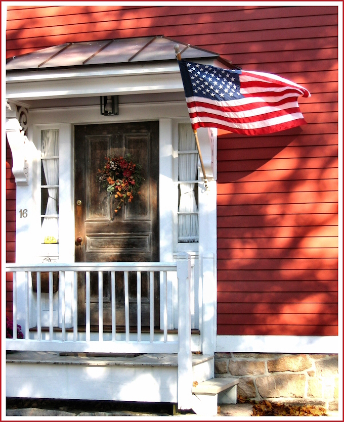 Stonington Red House New England