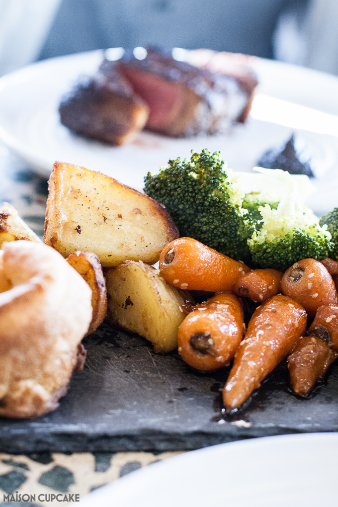 Sunday Roast Lunch at Jamie Oliver's Barbecoa Restaurant