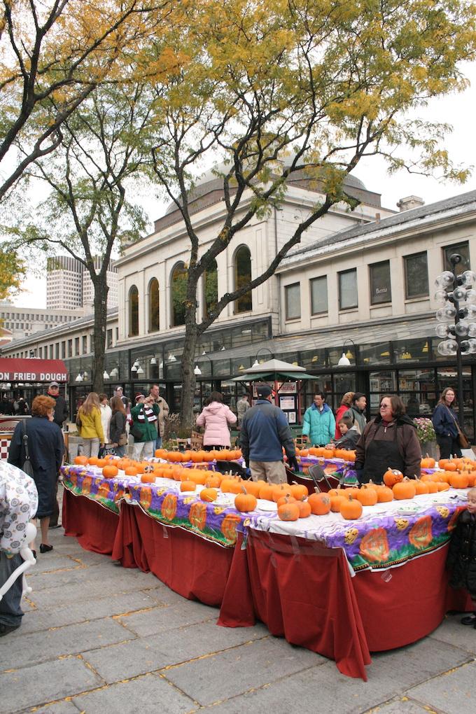 New England pumpkin market