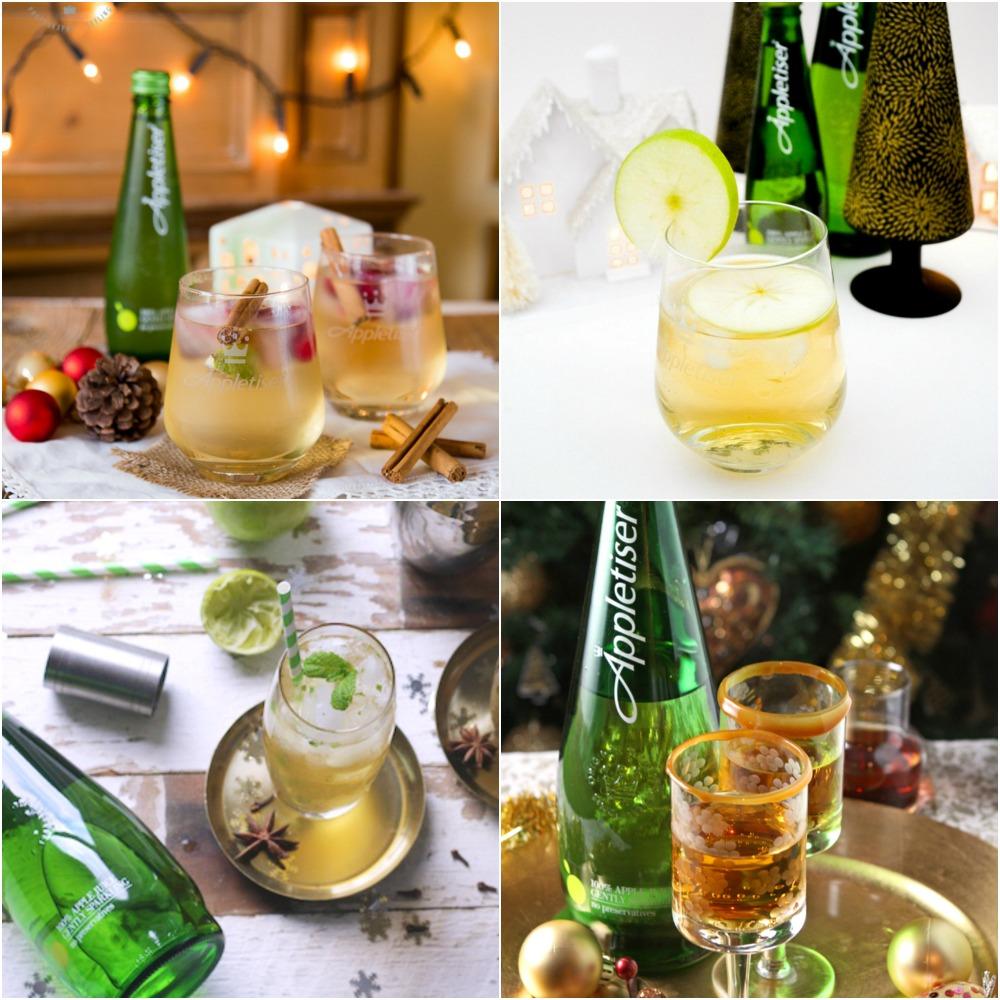 More Appletiser sparkling apple juice cocktails: