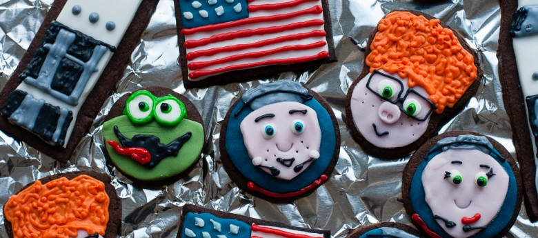 Space party cookies: Capture the Flag movie