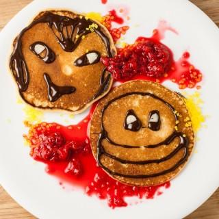 Monster pancakes from Hotel Transylvania 2
