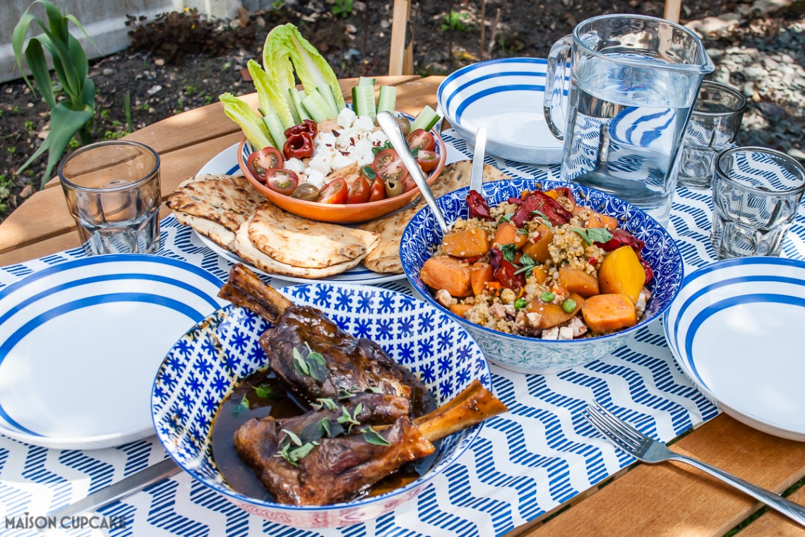 Easy Summer Menu for Six in 30 Minutes