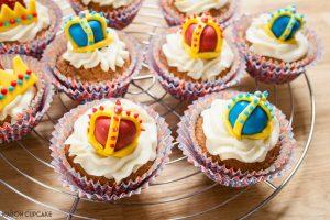 Queen's Birthday Cupcakes
