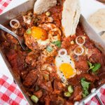 Spicy Barbecued Egg and Bacon Mess