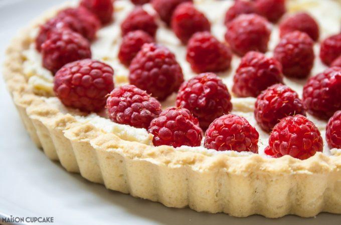 Cheats Raspberry Tart-5