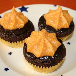 Recipe: chocolate and peanut butter cupcakes
