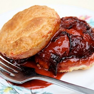 Recipe: mini plum tarte tatins