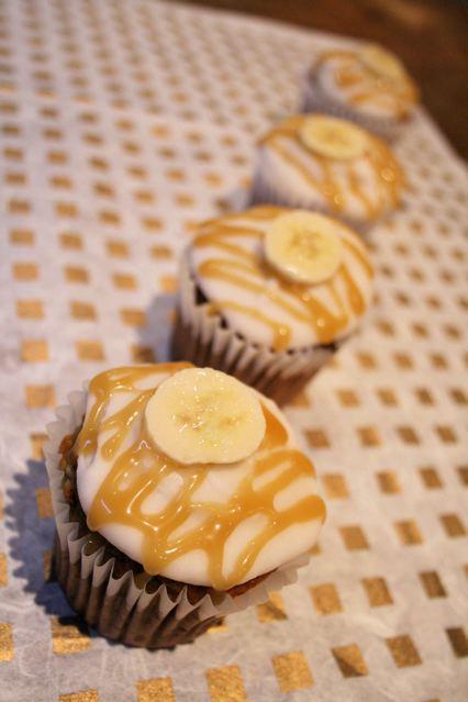banoffee cupcakes recipe cream cheese icing
