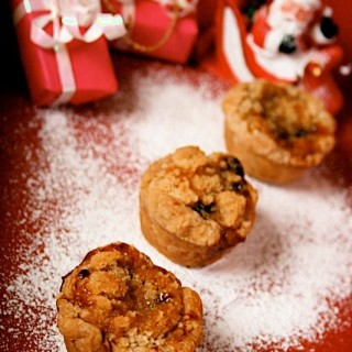 Recipe: mini almond crumble mince pies